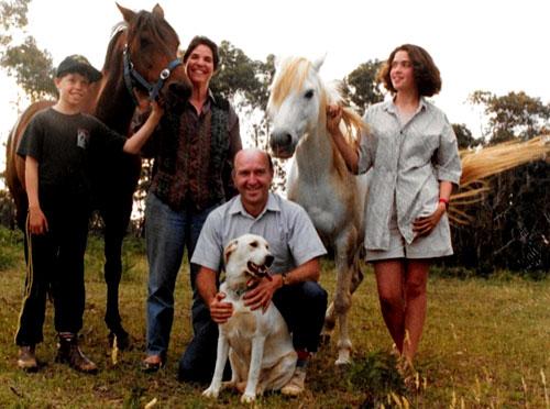 Barnaby, Tom the Wonder Horse & Judith, Ron & Muffin, Barnaby's pony Blue Boy, Jessica