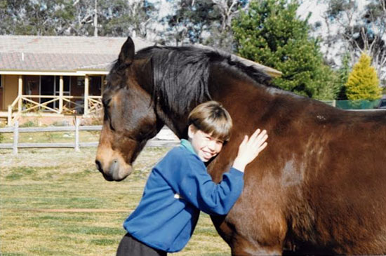 Tom the Wonder Horse with Barnaby